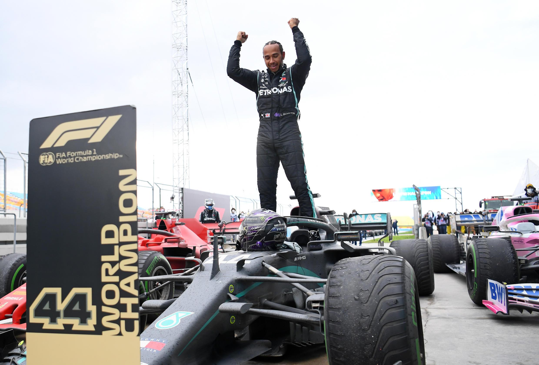 Lewis Hamilton, piloto britânico.