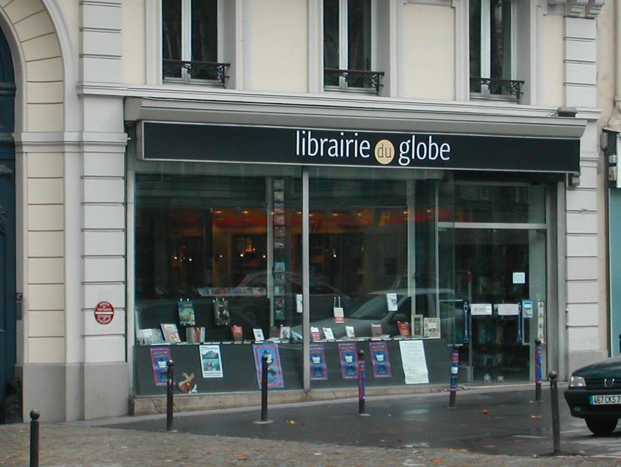 русский книжный магазин Librairie du Globe в Париже