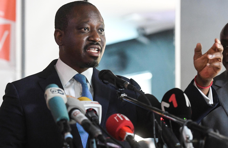 Guillaume Soro, ancien Premier ministre de Côte d'Ivoire sous la présidence d'Alassane Ouattara et ancien chef rebelle.
