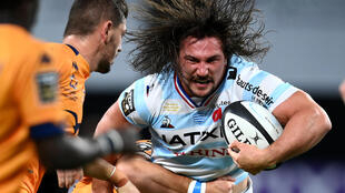 Camille Chat was one of the star players during Racing 92's 56-3 waltz past Edinburgh to reach the last eight of the Champions Cup.