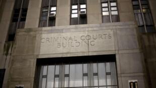 Le bâtiment du tribunal de New York.