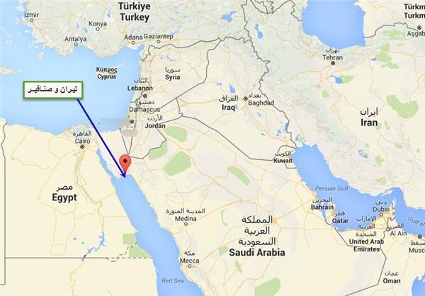 """عبدالفتاح السیسی، رییسجمهوری مصر انتقال دو جزیره  """"تیران"""" و """"صنافیر"""" را به عربستان سعودی تأیید کرد."""
