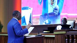 Le président sénégalais Macky Sall a prêté serment, mardi 2 avril 2019, à Diamniadio. (Photo d'illustration)