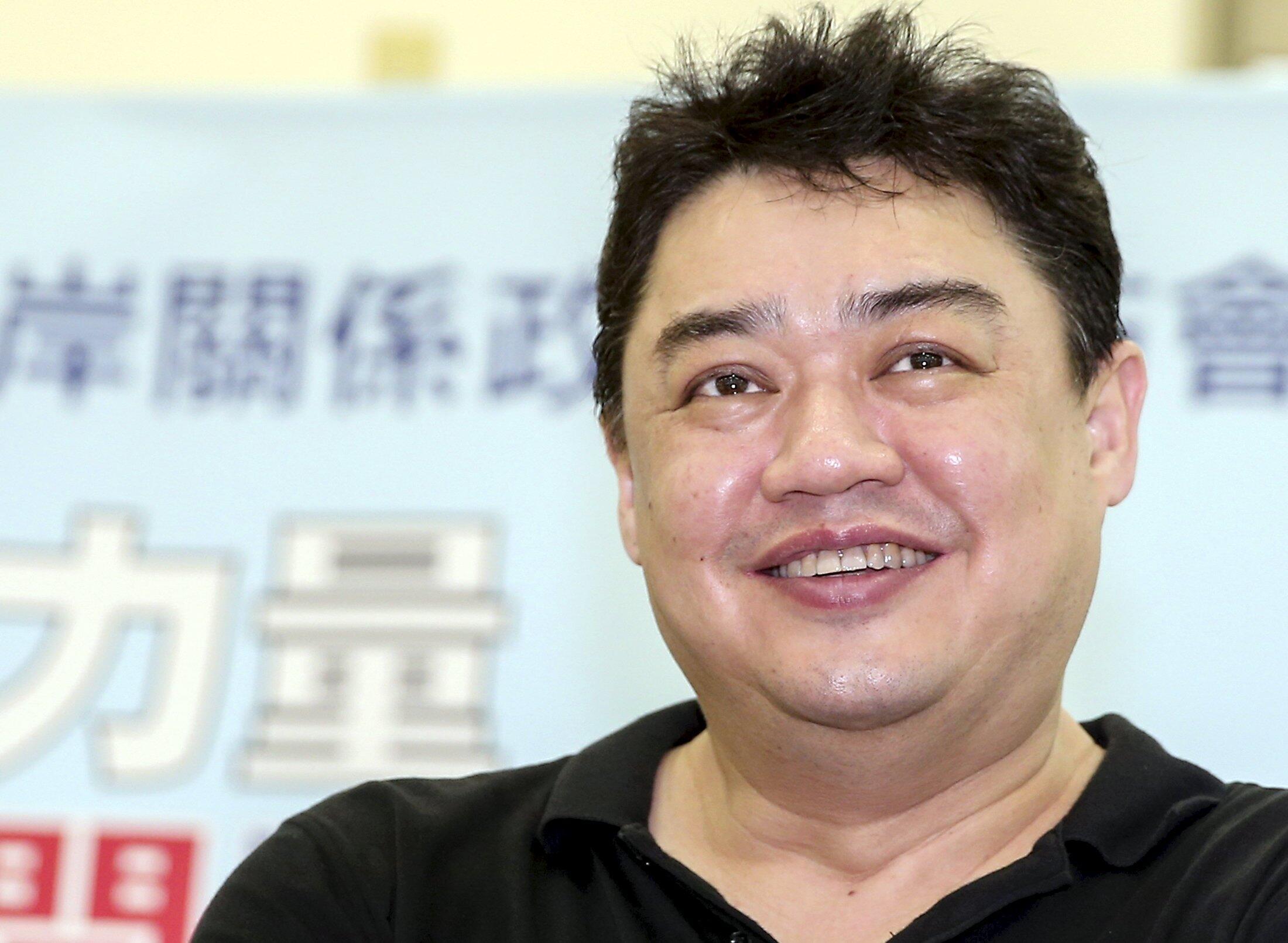 Cựu lãnh đạo sinh viên Ngô Nhĩ Khai Hy tại một hội thảo tại Đài Chung, Đài Loan, ngày 24/06/2015.