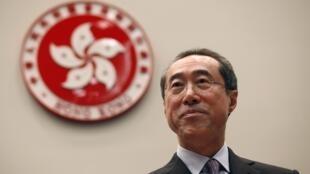Ông Đường Anh Niên, ứng viên lãnh đạo hành pháp Hồng Kông, người được coi là thân Bắc Kinh