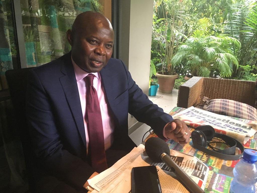 Vital Kamerhe, ex-directeur de cabinet du président de la République démocratique du Congo, Félix Tshisekedi.