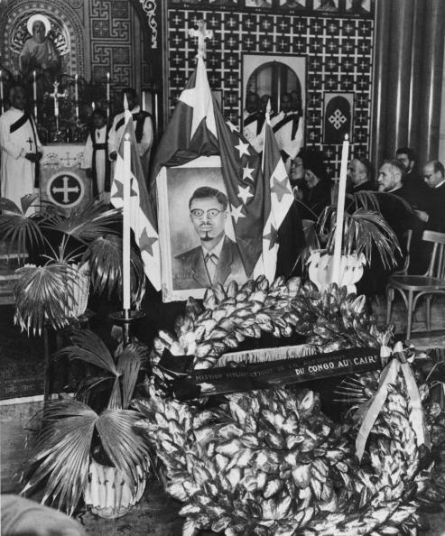 A requiem mass for Patrice Lumumba in Cairo on 23 February 1961