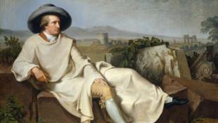 Гете в Римской Кампаньи (1786-1787). Иоганн Генрих Вильгельм Тишбейн. Städel Museum.