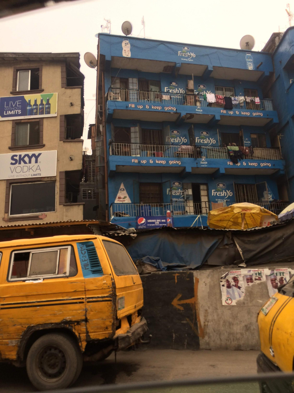 Passing through Lagos, Nigeria , Feburary 2019