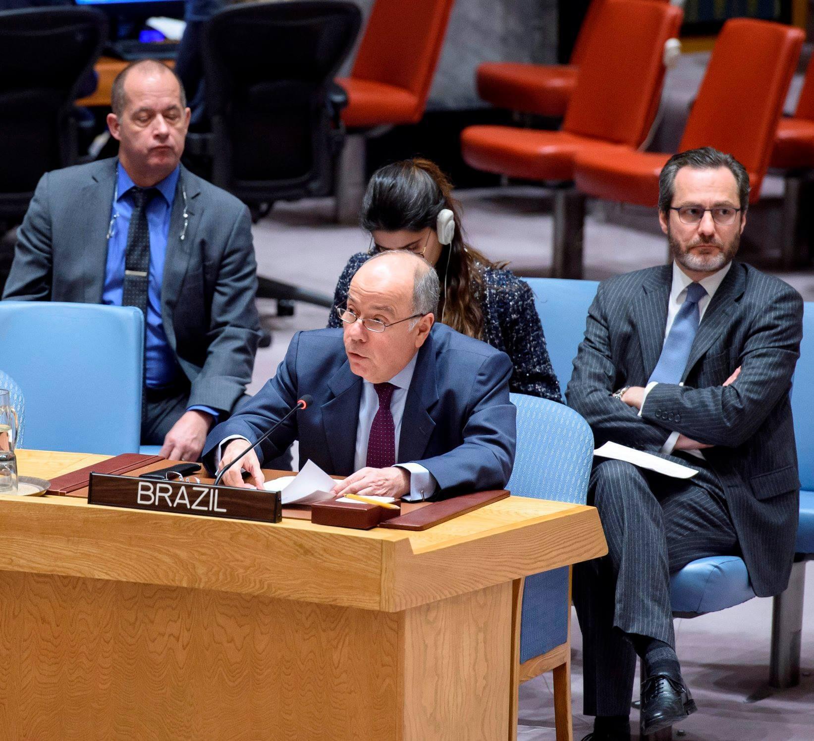Mauro Vieira, presidente da comissão das Nações Unidas para a consolidação da paz na Guiné-Bissau.
