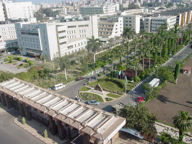 Mansoura is the capital of the Dakahlia Governorate