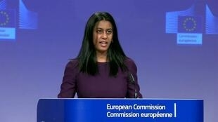 欧盟外交与安全政策发言人恩利克森资料图片
