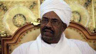 Omar al Bashir, le 20 avril 2010.