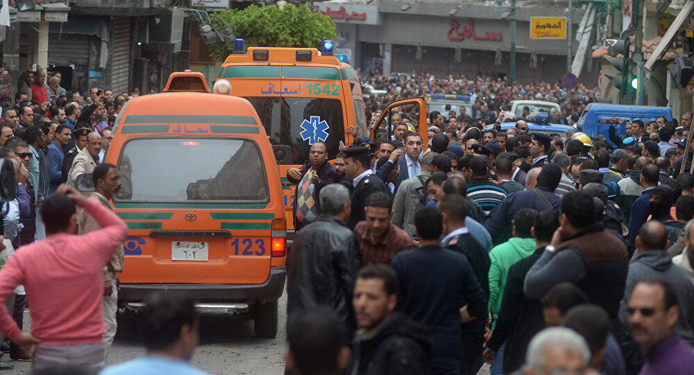 انفجار یک خودروی بمبگذاری شده در اسکندریه مصر
