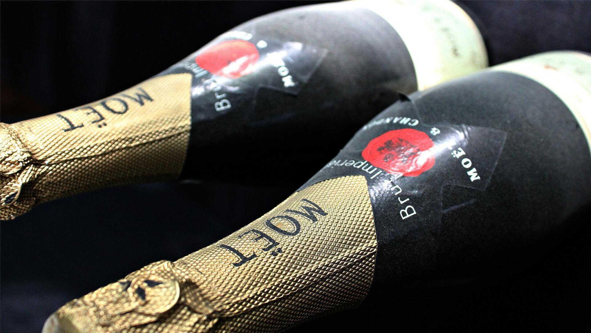 Rượu sâm banh của Nhà Moët