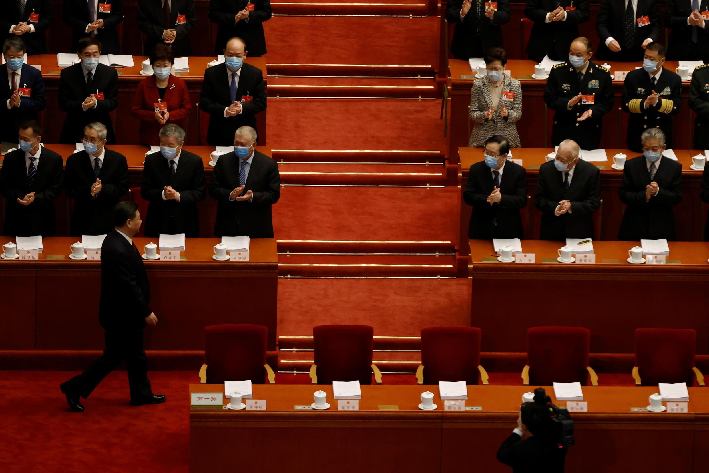 Reforma de Hong Kong na mesa da Assembleia nacional popular chinesa