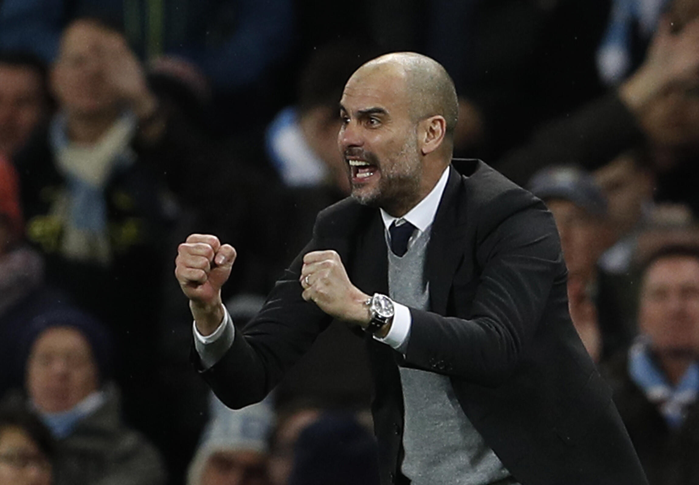 Manchester City manager Pep Guardiola said his side needed to tighten up in defence.