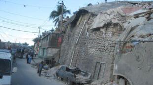 Haïti, après le séisme de 2010.