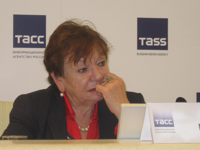 Директор музея Анны Ахматовой Нина Попова