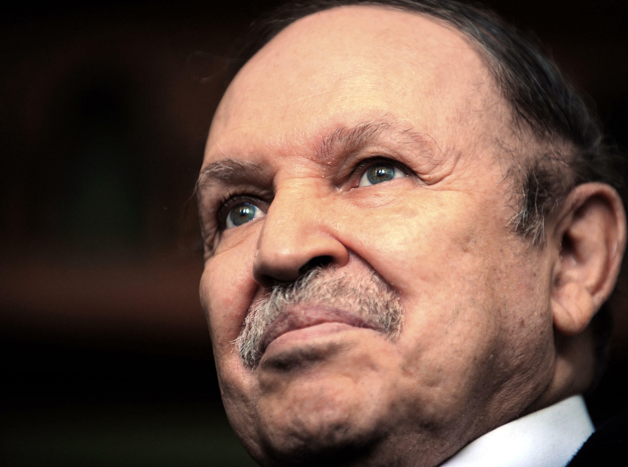 Abdelaziz Bouteflika, shown here in 2009, helped foster peace in Algeria after a decade-long civil war in the 1990s