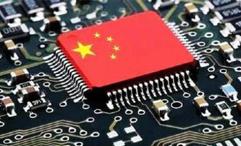 图为中国网络关于中国应有自制芯片核心技术配图