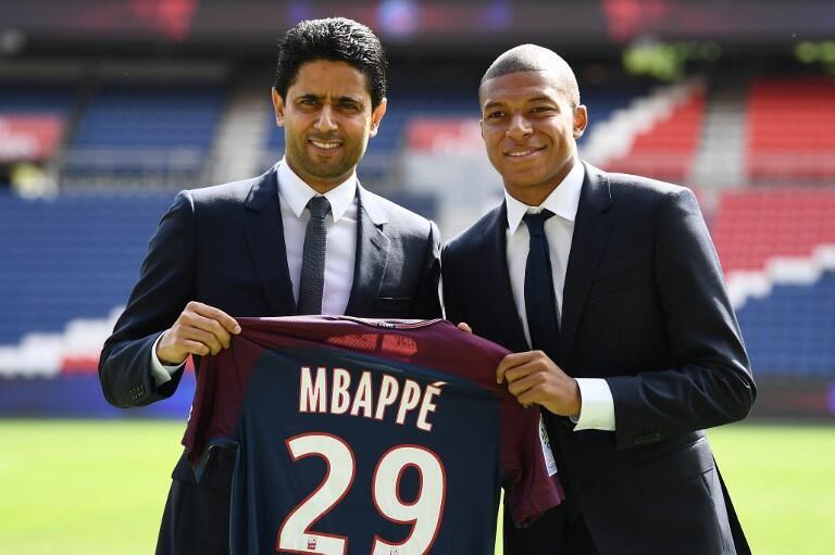 Le président du PSG, Nasser Al-Khelaïfi compte sur Kylian Mbappé pour offrir la qualification en quart de finale de la Ligue des champions au club parisien.