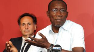 Me Amadou Sall, avocat de Karim Wade et responsable de la communication du Parti démocratique sénégalais (PDS).