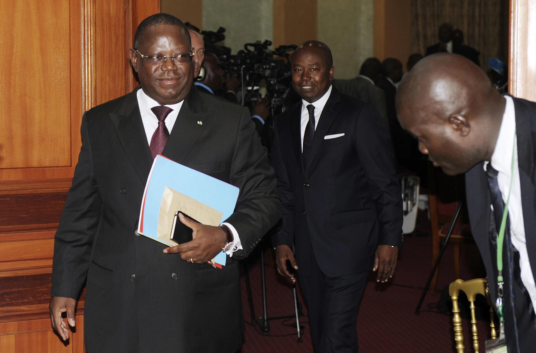 Le Premier ministre gabonais, Emmanuel Issozé-Ngondet, en septembre 2016.