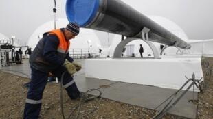 Le futur gazoduc South Stream parcourra 2 300 km du sud de la Russie au nord de l'Italie.