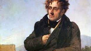 法國浪漫主義巨人夏多布里昂資料圖片