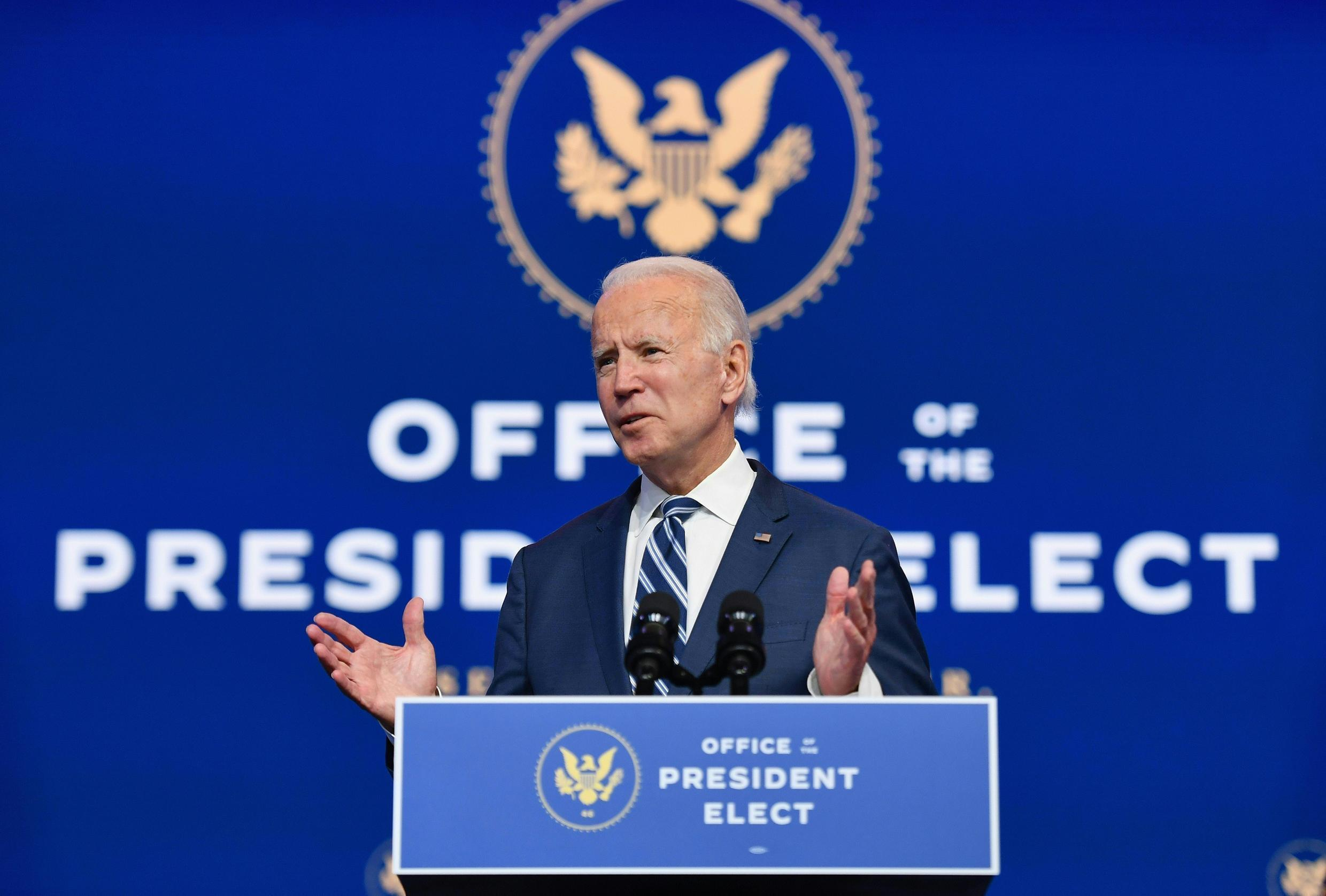 Joe Biden's battle against the coronavirus has been laid bare by figures showing a record of more than 200,000 Americans were infected in 24 hours
