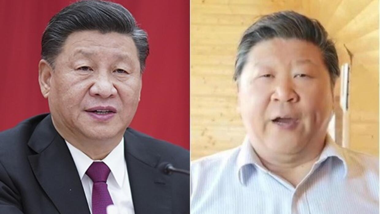 合成图片,右图为旅欧歌唱家刘克清