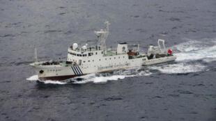 Les deux patrouilleurs chinois envoyés par Pékin sont arrivés ce mardi 11 septembre près des îles Diaoyu-Senkaku.