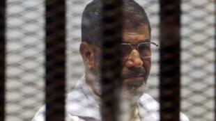 Presidente Moahmed Mursi en prisión