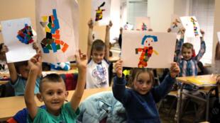 A Nova Kasaba, une école bosniaque pour les enfants bosniaques.