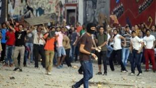 Sexta-feira foi tumultuada no Cairo.