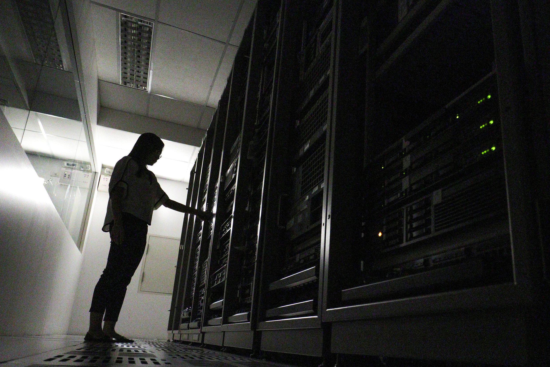 Ministros do Interior do G7 e gigantes da Internet se uniram para implementar um plano de ação destinado a bloquear automaticamente os conteúdos terroristas, em 20 de outubro de 2017.