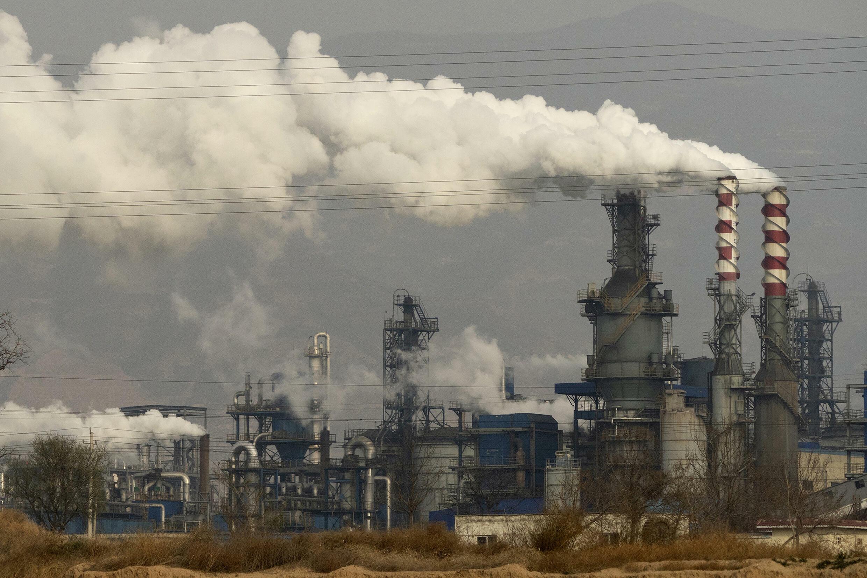 Chine - Charbon - Usine - Énergie - AP21197183465287