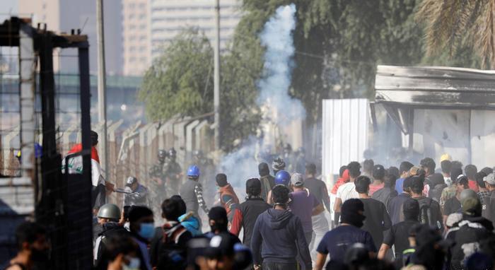 برخی معترضان، از اینکه این فاجعه چهرهی اعتراضات مسالمتآمیز مردم عراق علیه حکومت را خدشهدار کند، ابراز نگرانی میکنند.