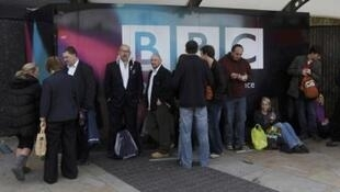 Personal de la BBC en Londres