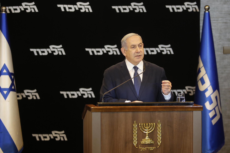 بنیامین نتانیاهو در یک نشست خبری گفت: «برای ادامه خدمت تصمیم دارد درخواست مصونیت را بهشکل رسمی به ریاست پارلمان اسرائیل (کِنِست) تقدیم کند.»