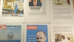 Semanários franceses 26 09 2020