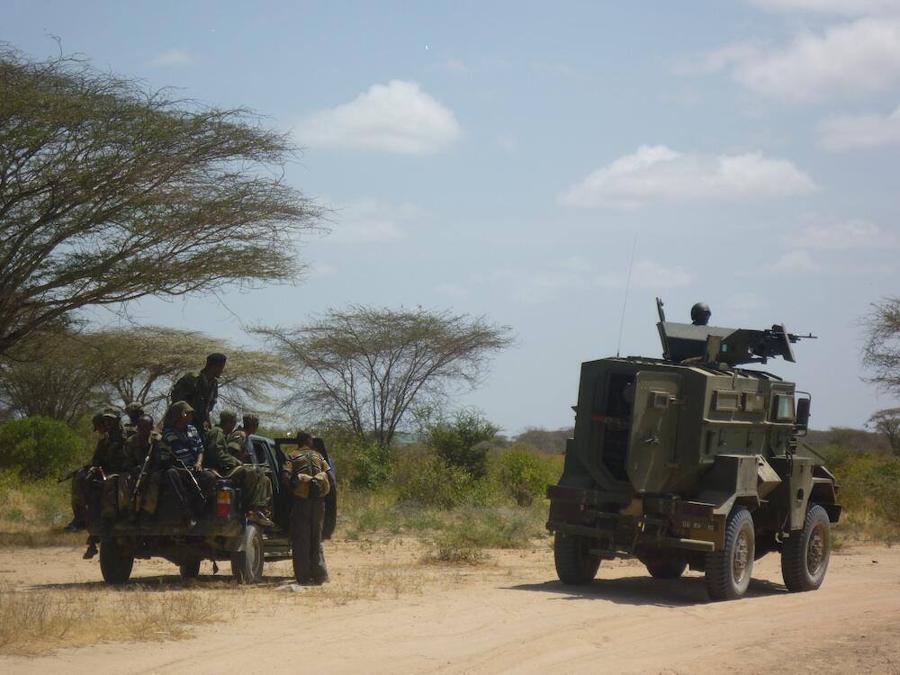 Somali and Kenyan troops