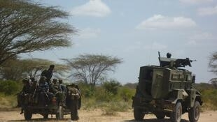 Somali and Kenyan troops