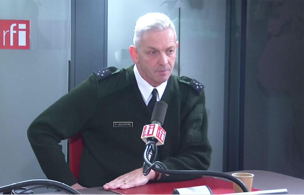 ژنرال فرانسوا لوکوانتر رئیس ستاد مشترک ارتش فرانسه