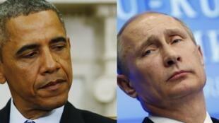 Tổng thống Mỹ Obama và đồng nhiệm Nga Putin - Reuters