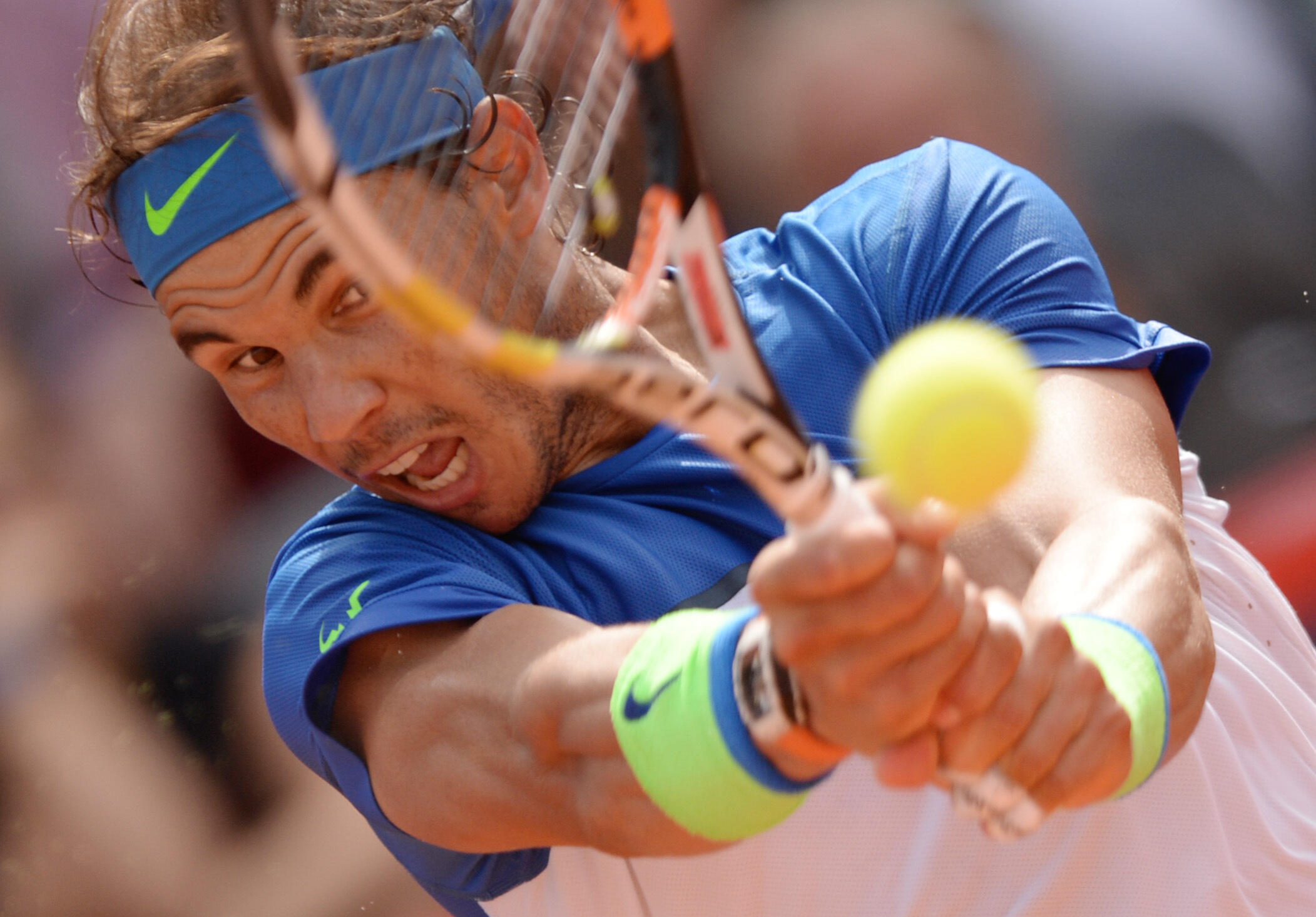 Rafael Nadal volvió a ganar en Hamburgo este 2 de agosto de 2015.