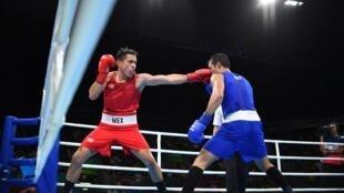 El boxeador Misael Rodríguez ofreció a México su primera medalla en estas olimpiadas.