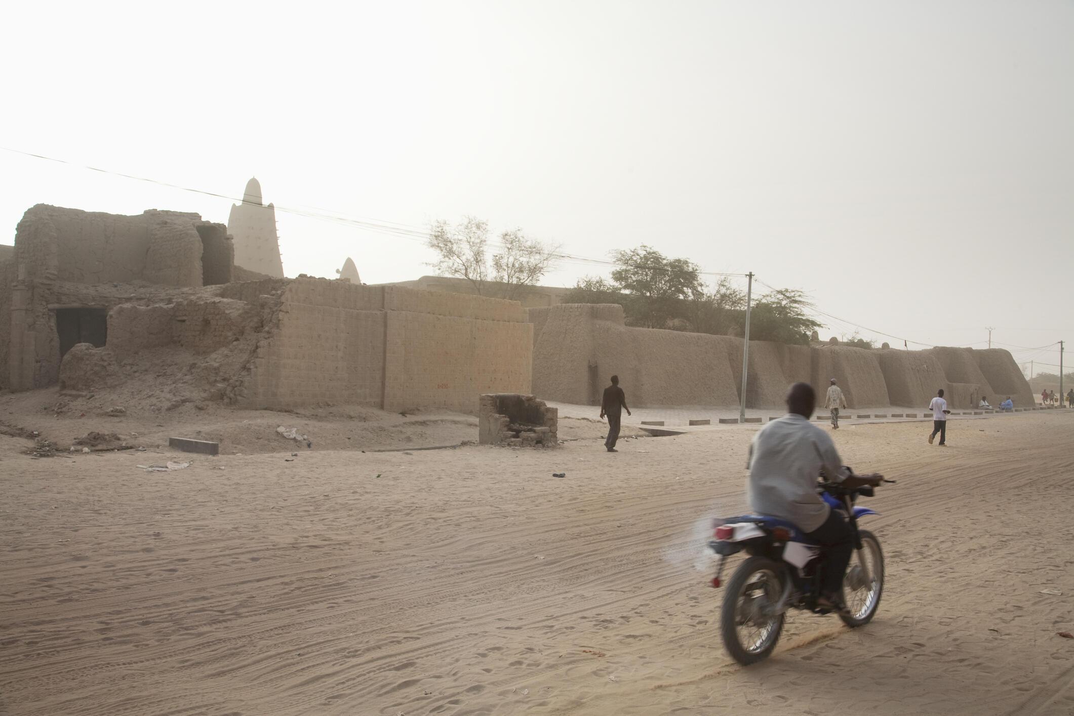 Vue de Tombouctou, au Mali. Face à l'insécurité, le pays a du mal à vivre du tourisme. (Photo de l'illustration)