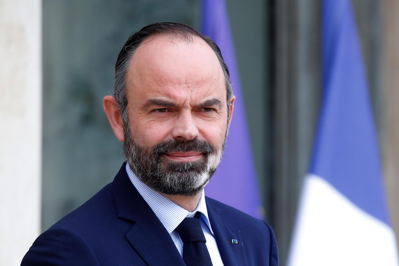 Le Premier ministre français Édouard Philippe à l'Elysée à Paris, le 19 février 2020.